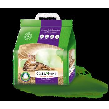 Cat's Best Smart Pellets наполнитель древесный комкующийся, 5 л/2,5кг